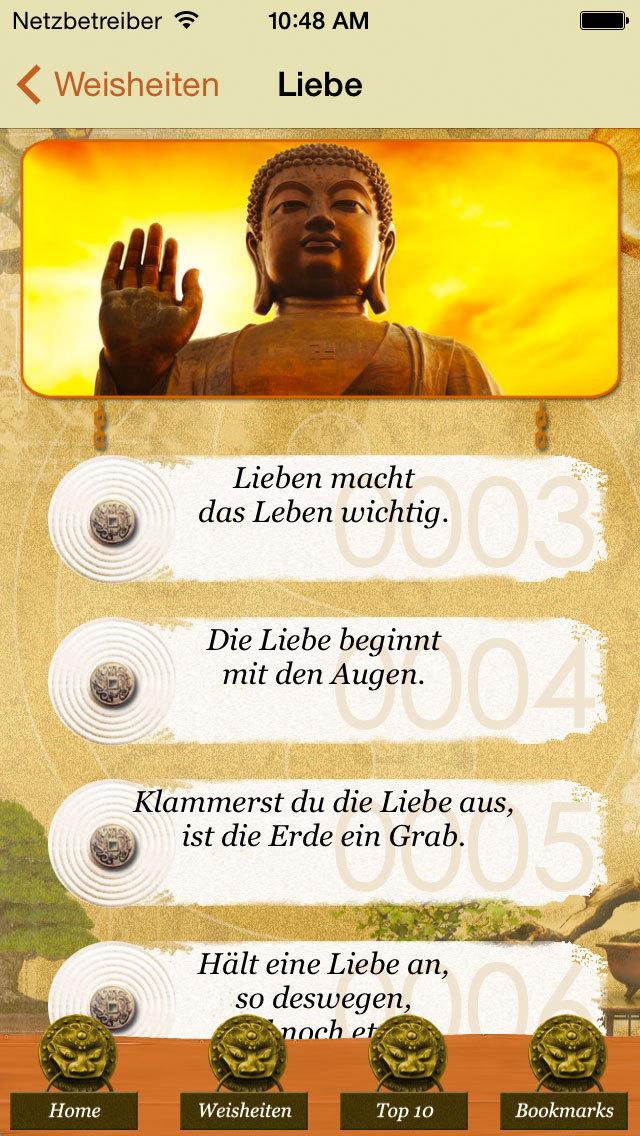 1500 Weisheiten Leben & Glück screenshot 2
