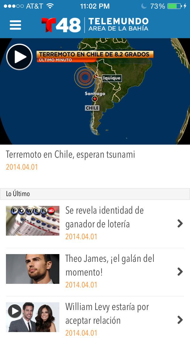 Telemundo 48 screenshot 2