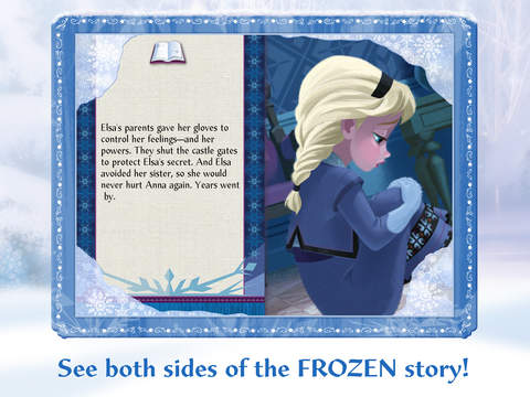 Frozen: Storybook Deluxe - Now with Frozen Fever! screenshot 8