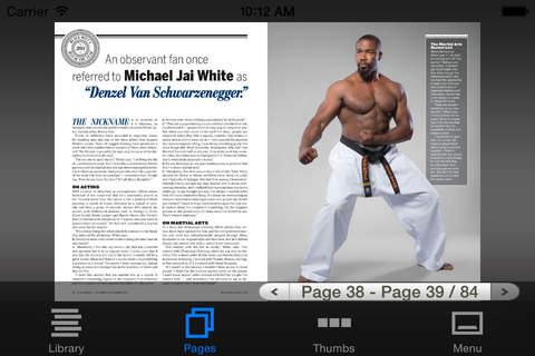 Black Belt Magazine - náhled