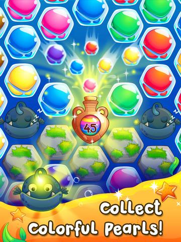 Pearl Paradise - Hexa Block Match 3 Puzzle screenshot 7
