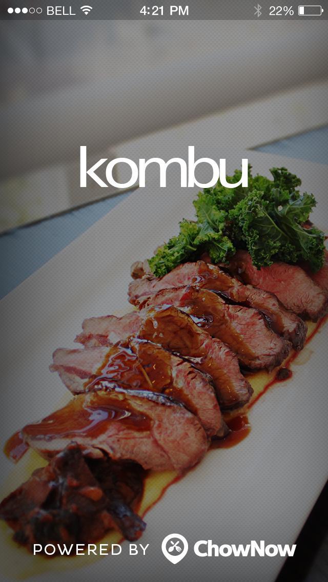 Kombu screenshot 1