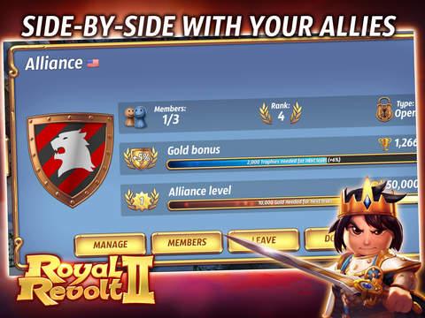 Royal Revolt 2: Tower Battle screenshot 8