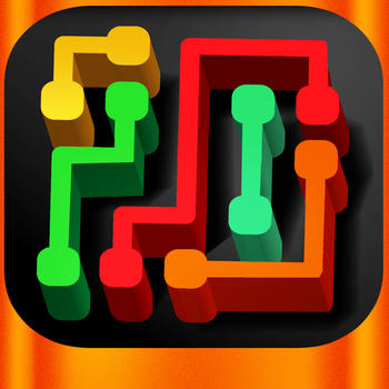 Crossy Flow Road - Connect two Dots through Vegas Bridges - Endless Puzzle Fun Game