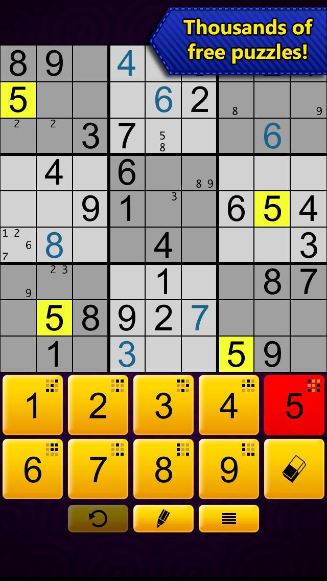 Sudoku Epic screenshot 5