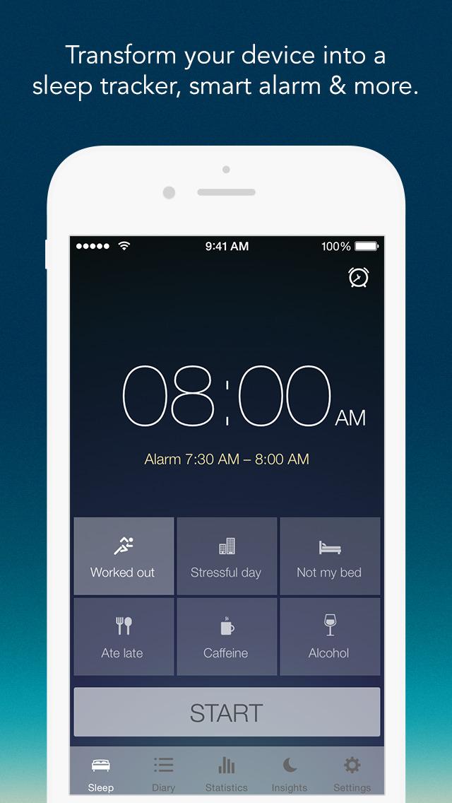 Sleep Better: Sleep Cycle App screenshot 1
