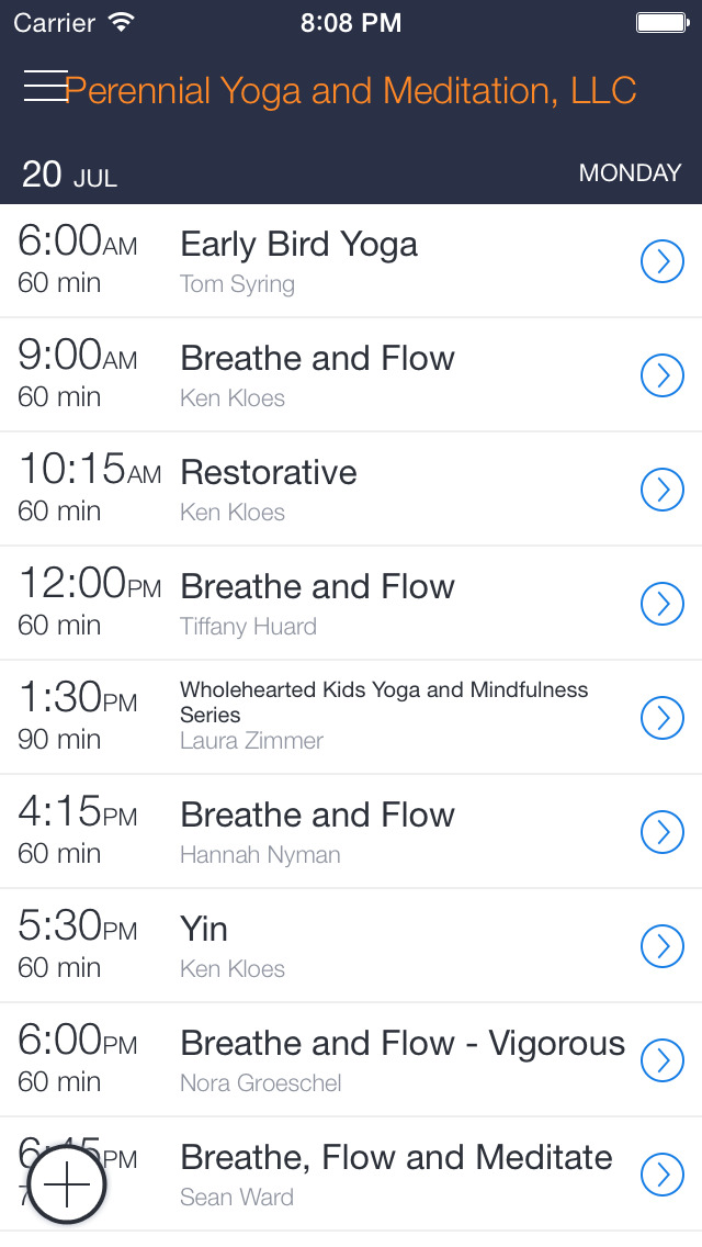 Perennial Yoga and Meditation screenshot 1