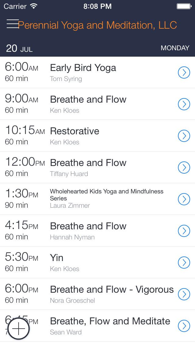 Perennial Yoga and Meditation screenshot 1