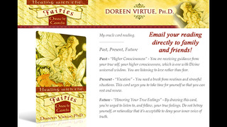 Healing with the Fairies Oracle Cards - Doreen Virtue, Ph.D. screenshot 3