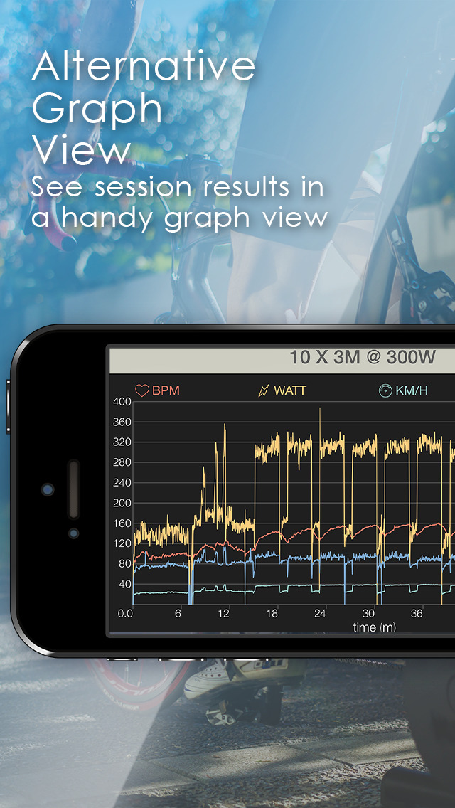 BikeDash - indoor trainer with ANT+ & Bluetooth screenshot #5