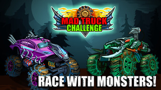 Mad Truck Challenge - Destroy cars and perform extreme stunts in this hill climb racing game screenshot 3