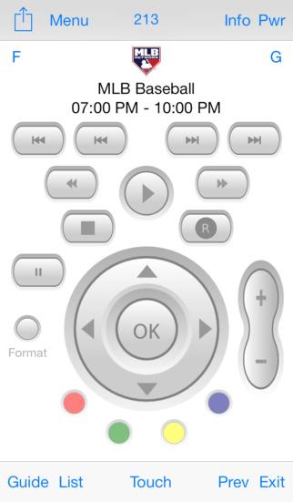 Direct Remote for DIRECTV screenshot 1