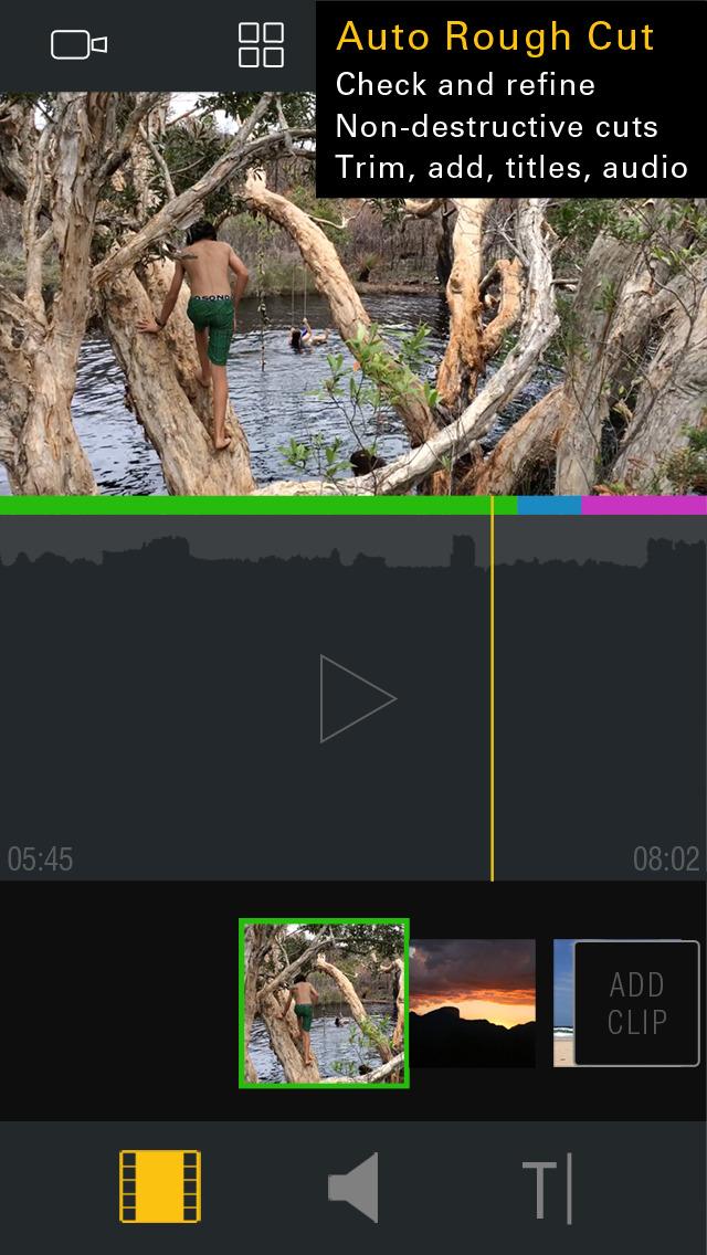 Kinomatic - Pro Video Camera screenshot 5