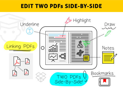 Easy Annotate - Split Screen Dual PDF Editor for Annotating and Linking Two Documents screenshot 5