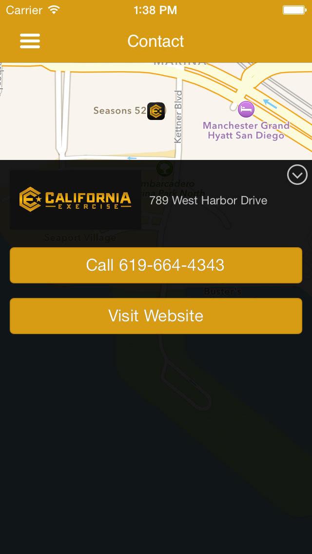 California Exercise screenshot #1