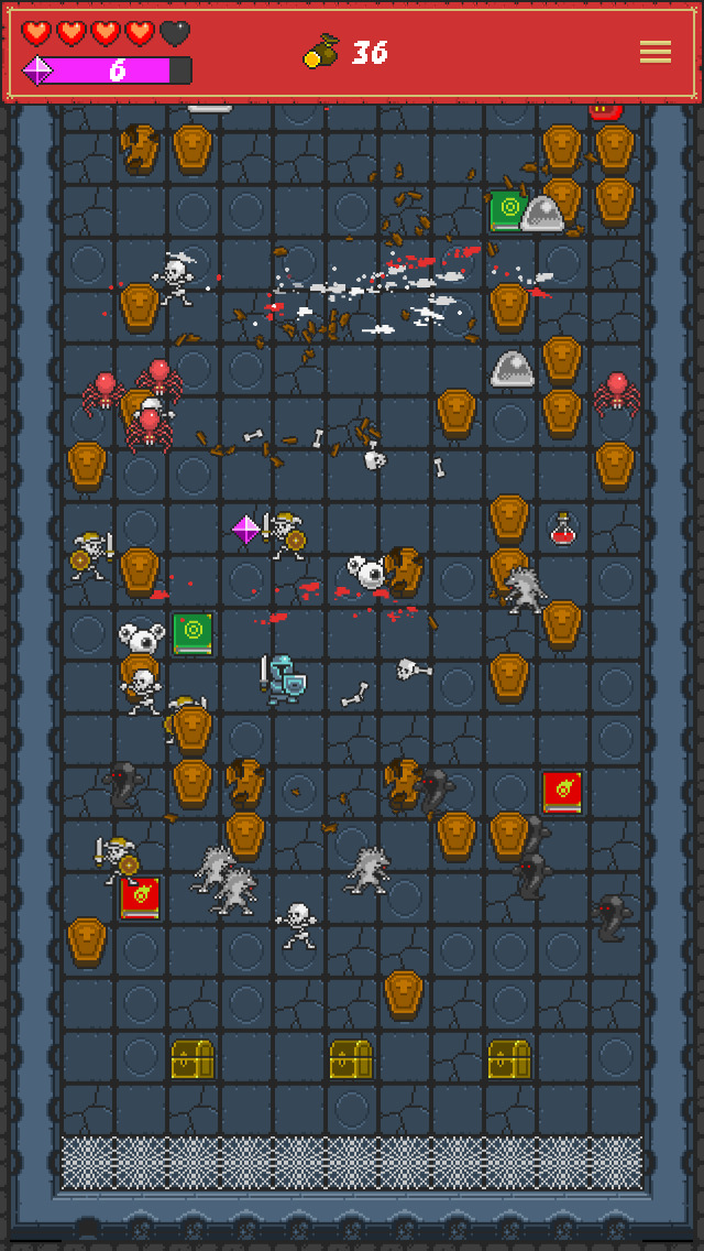 One Tap RPG - Pachinko-like Dungeon Crawler screenshot #2