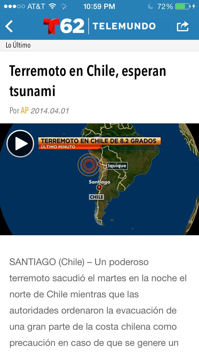 Telemundo62 screenshot 4