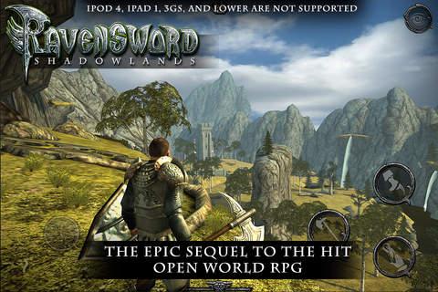 Ravensword: Shadowlands - náhled