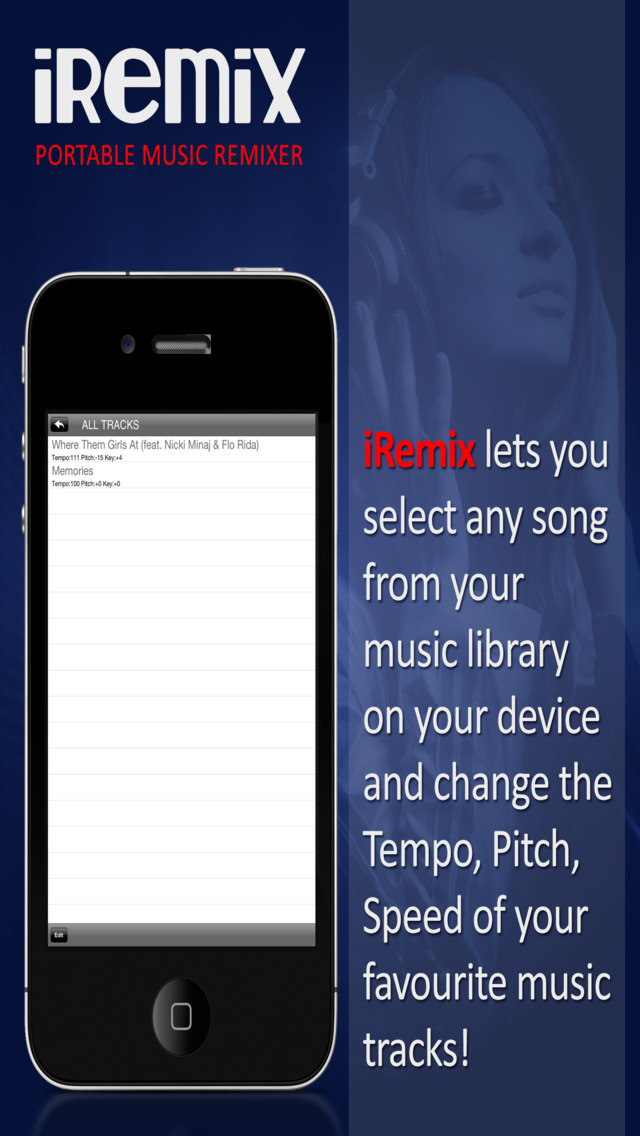iRemix Free - Portable DJ Music Editor & Remixer screenshot 4