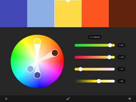Adobe Color CC – capture color themes screenshot 7