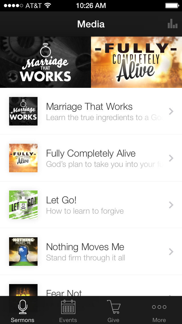Victory Church App screenshot 1