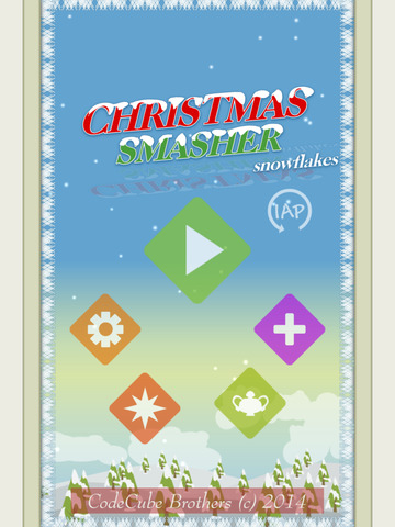 Christmas Smasher - Snowflakes screenshot 5