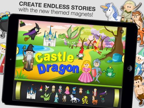 ABC - Magnetic Alphabet Full for Kids screenshot 3