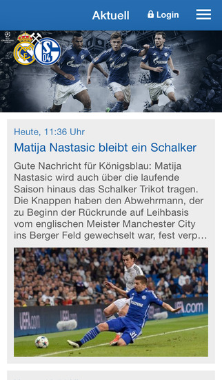 FC Schalke 04 screenshot 1