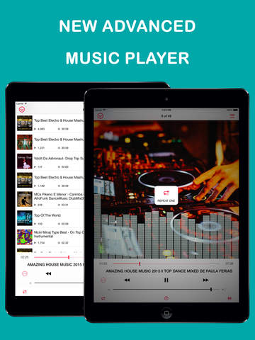 Free Music Stream PRO - Mp3 Player and Playlist Manager screenshot 7