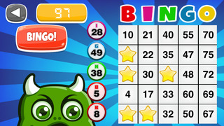 Bingo Monster: Wild Creature Edition - FREE screenshot 1