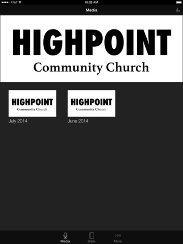 HighPoint Community Church screenshot 4