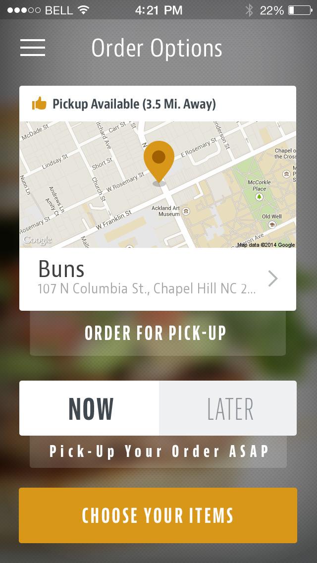 Buns Chapel Hill screenshot 2