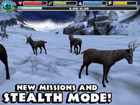 Snow Leopard Simulator screenshot 8