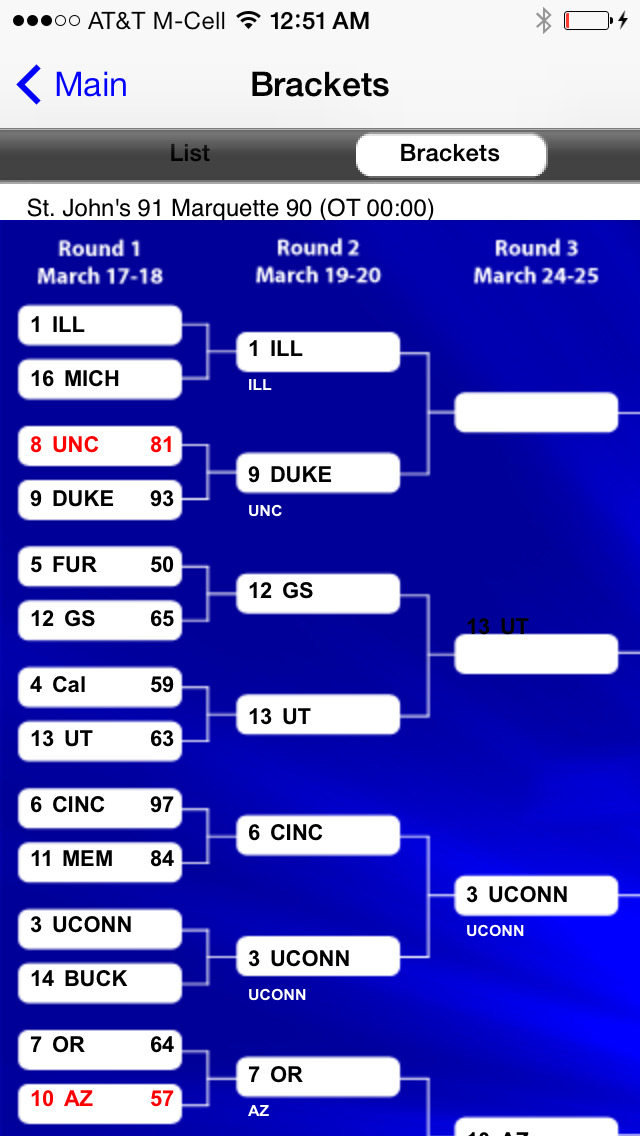 iphone apps free app shopper live bracket 2015 college basketball 4344
