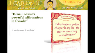 I Can Do It 2015 Calendar - Louise Hay screenshot 3