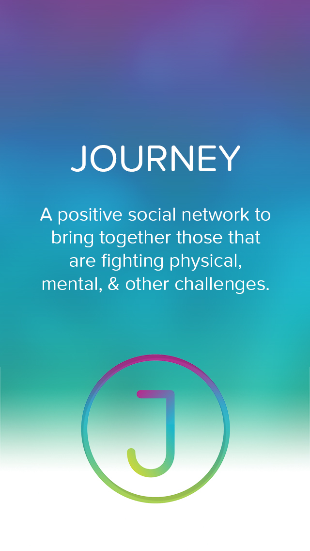 Journey - A positive social network screenshot 1