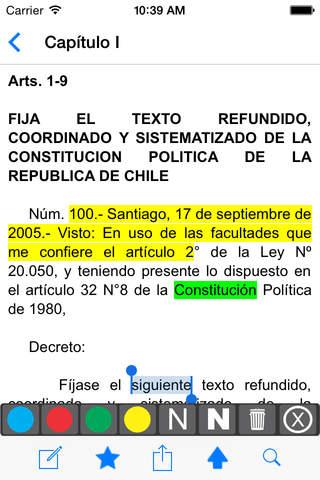 Constitución Chilena - náhled