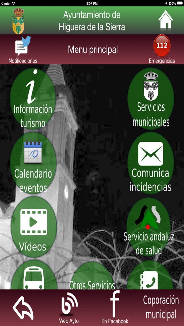 Higuera de la Sierra - Servicios e Información screenshot 2