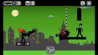 Stickman Zombie Shooter screenshot 4