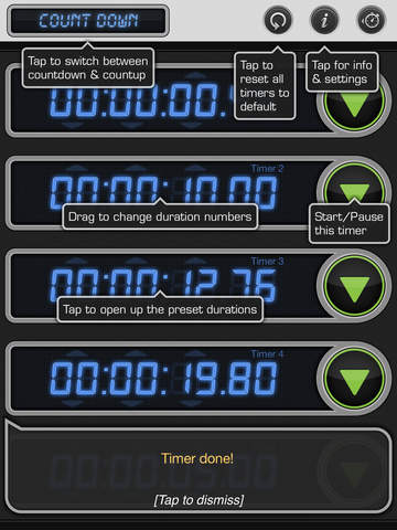 Stopwatch & Timer: Pro Multiple Count Down/Up screenshot 10