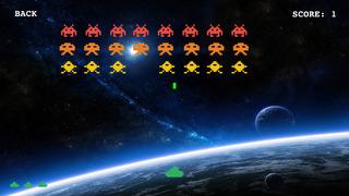 Classic Invaders: arcade retro space shooting game screenshot 1