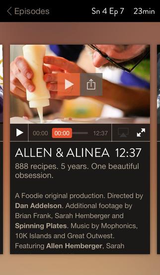 FoodieTV screenshot #1