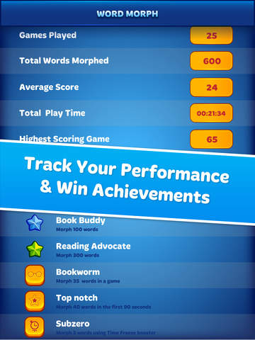 Word Morph! - Endless Word Puzzle Game screenshot 10
