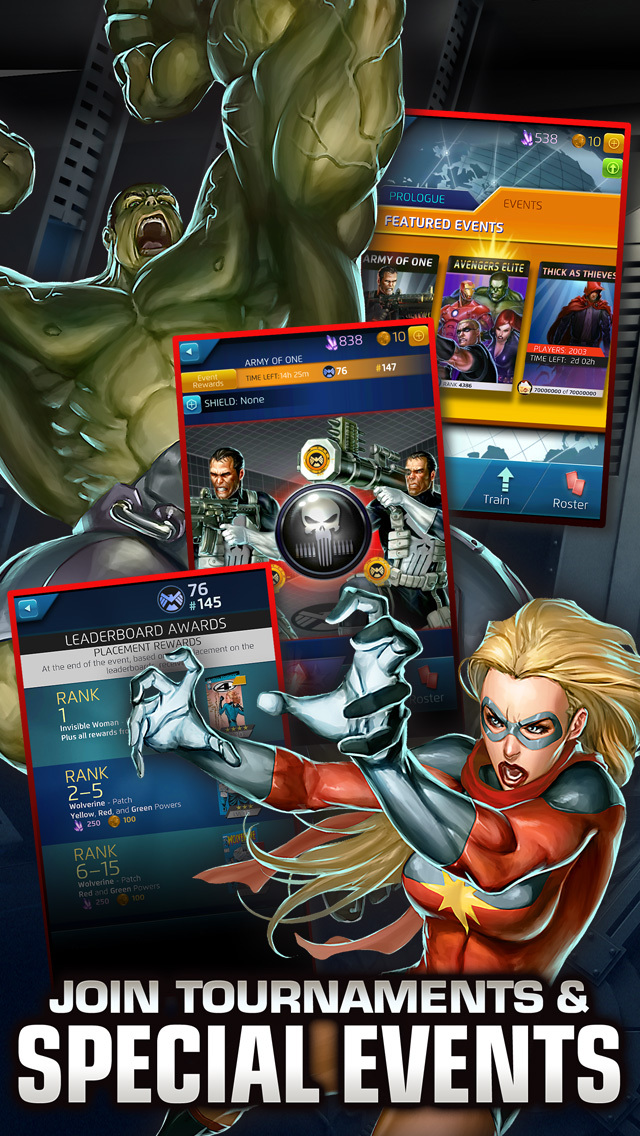 MARVEL Puzzle Quest screenshot 4