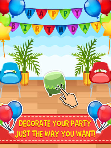 My Birthday Party - Cake, Balloons and Gifts for Kids Everyday screenshot #4