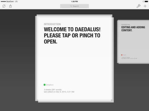 Daedalus Touch – Text Editor for iCloud screenshot 6