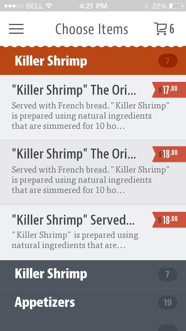 Killer Shrimp screenshot 3