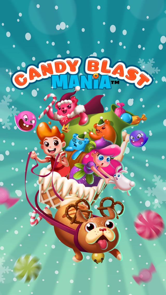 Candy Blast Mania Christmas screenshot 4