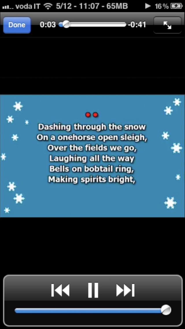 Christmas Karaoke: Christmas Carols and Christmas Songs screenshot 1