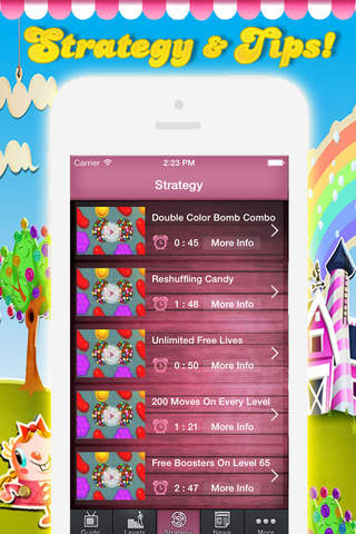 Guide for Candy Crush Saga - Video Guide,Text Guid - náhled